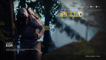 Destiny 2: ubicación de Xur y equipamiento (del 1 al 5 de diciembre)