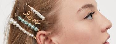 17 horquillas, pasadores y accesorios para el pelo de H&M con los que vestir a lo grande nuestra melena