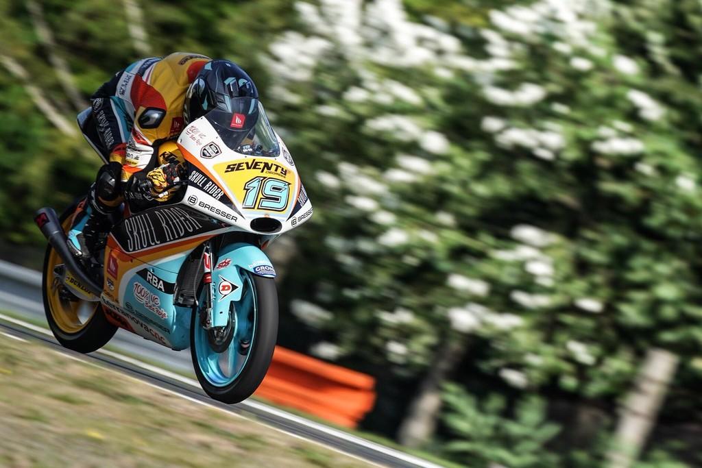 Gabriel Rodrigo Gp Republica Checa Moto3 2018