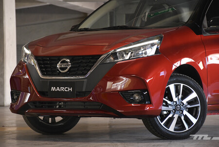 Nissan March 2021 Opiniones Prueba Mexico 9