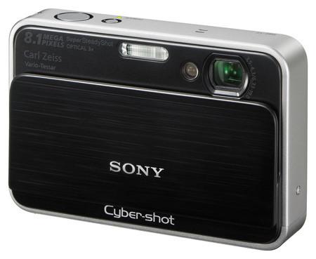 Sony Cybershot DSC-T2, con memoria interna de 4 GB