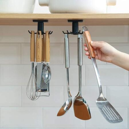 Gancho para utensilios de cocina.