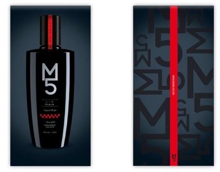 Ginebra riojana Gin M5