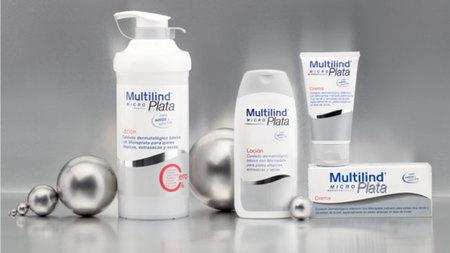 Probamos los productos Multilind Micro Plata para pieles atópicas