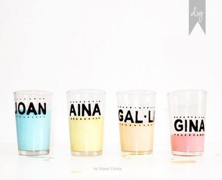 personalizar tus vasos para un cumpleaños