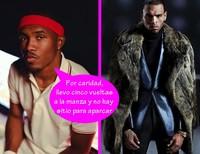 Mal rollito: Chris Brown y Frank Ocean se sacuden por un aparcamiento