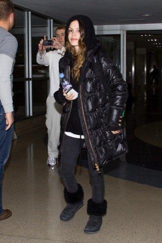 Rachel Bilson abrigo
