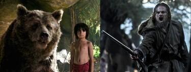 Las nueve mejores películas para ver gratis en abierto este fin de semana (27-29 noviembre): 'El libro de la selva', 'El renacido' y más