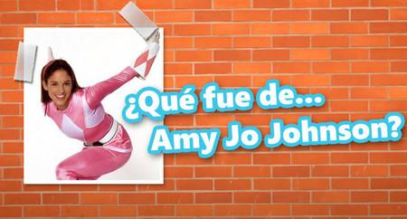 ¿Qué fue de Amy Jo Johnson, el Power Ranger rosa?