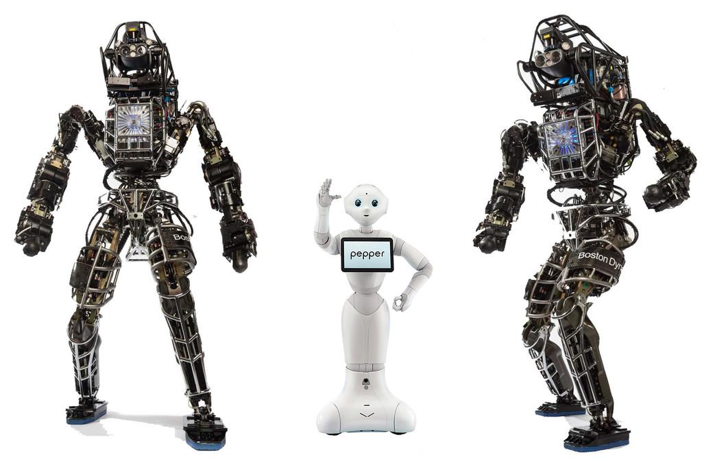 Robots Pepper Atlas
