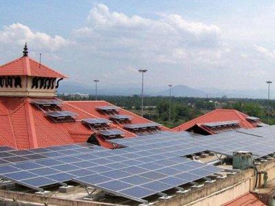 Este es el primer aeropuerto que funciona única y exclusivamente con energía solar