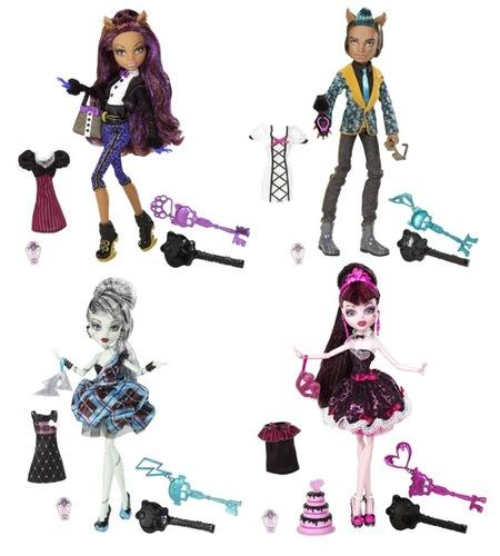 """Monster High ya ha estrenado en Boing """"Un romance monstruoso"""" para celebrar el cumplespantos de Draculaura"""