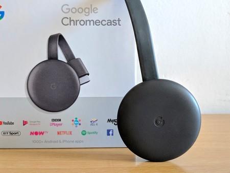 El sencillo y funcional dispositivo de Google para hacer tu TV más smart está rebajadísimo en eBay: Chromecast 3 por 31,99 euros