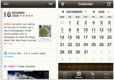 Momento, un diario 2.0 para el iPhone e iPod touch