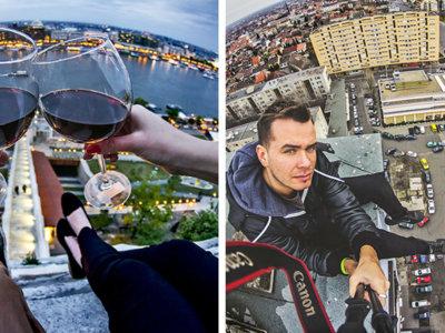 Tamás Rizsavi fotografía Budapest desde los puntos más altos de la ciudad consiguiendo imágenes de vértigo