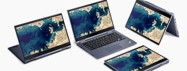 Los portátiles se venden como rosquillas: las ventas crecen un 81%, pero si hay un ganador claro, ese es el Chromebook