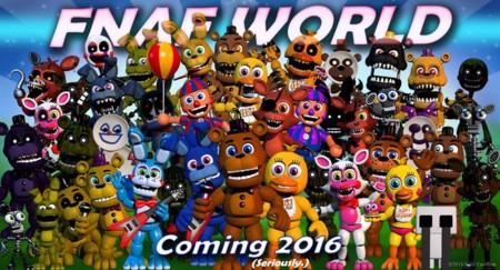 Five Nights at Freddy's World desaparece de Steam y será gratuito cuando regrese