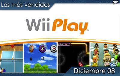 Los juegos más vendidos en España - Diciembre 2008