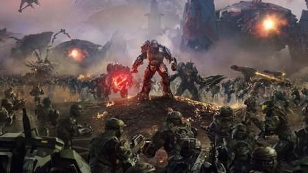 Una partida de Halo Wars 2 en su nuevo tráiler