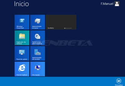 La GUI de Windows Server 2012 R2 revela algunos detalles nuevos de Windows 8.1