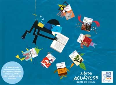 Libros acuáticos que se pueden mojar sin estropearse