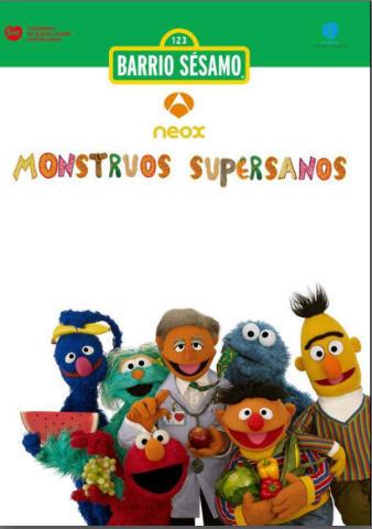 Hoy se ha estrenado en Antena 3 'Monstruos Supersanos', una serie que promueve hábitos saludables