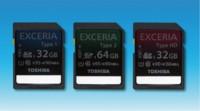 Toshiba EXCERIA, las tarjetas SD más rápidas del mercado
