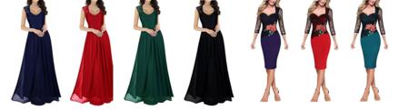 83d594444135 4 Vestidos de celebración por menos de 35 euros en Amazon