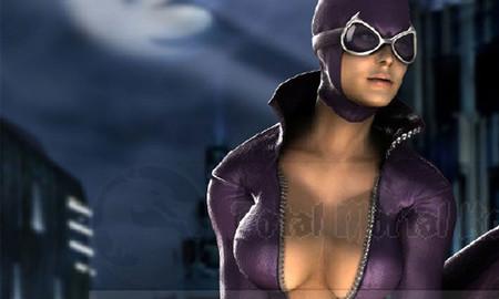 La sexy CatWoman en 'Mortal Kombat vs. D.C. Universe'