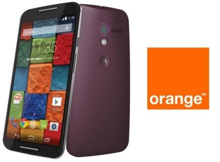 Precios Motorola Moto X (2014) con Orange y comparativa con Yoigo