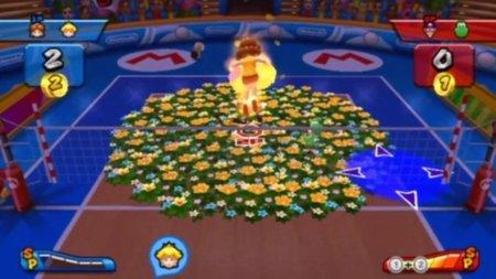 'Mario Sports Mix'. 18 minutos de vídeo de su modo online en un partido de volleyball