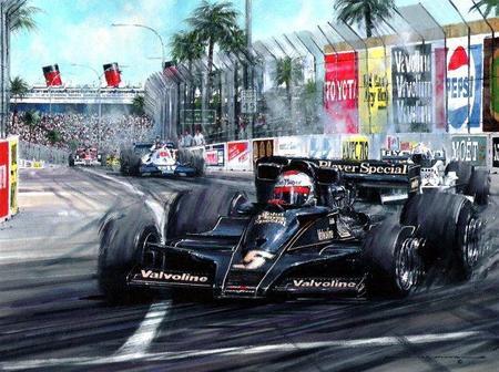 Lotus Racing volverá al negro y dorado