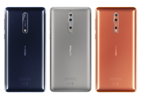 Nokia 8 Colores Oficial