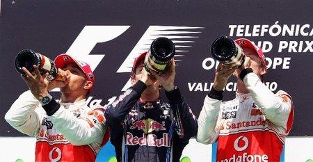 El Safety Car marcó las diferencias en Valencia. Bandera a Cuadros GP de Europa 2010