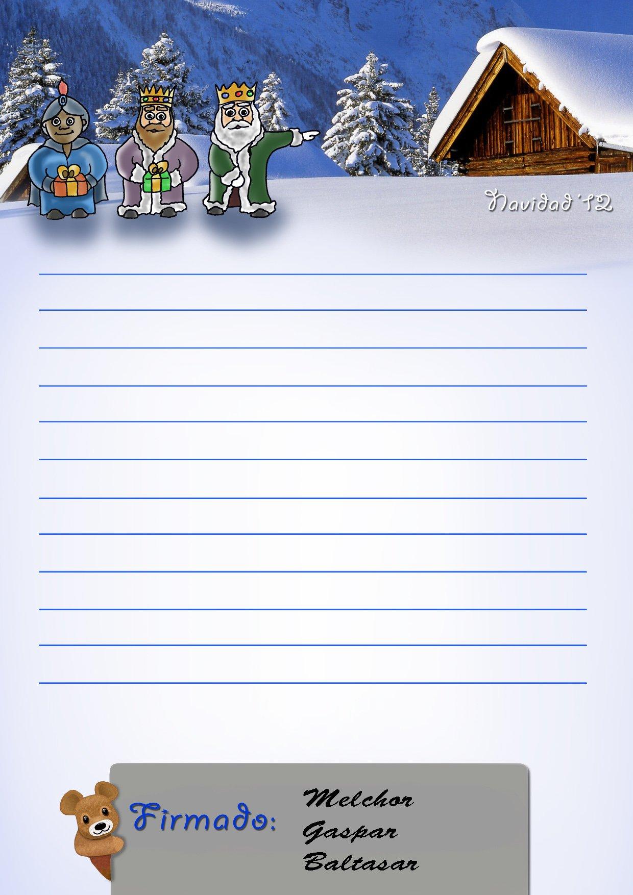 Haz tu propia carta para que los Reyes Magos respondan a tus hijos ...