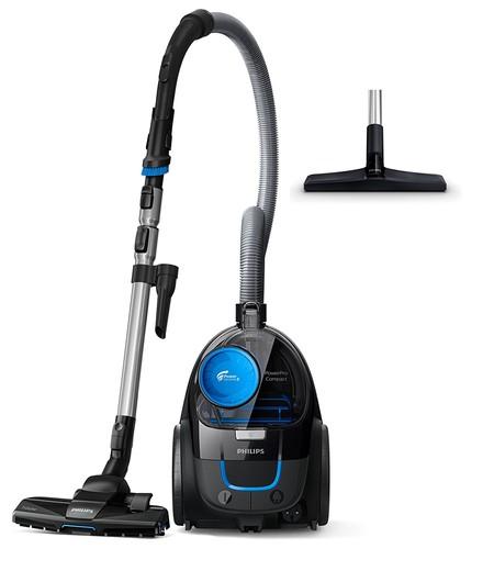 El aspirador sin bolsa Philips Fc9331/09  PowerPro Compact está por 48,50 euros en Amazon gracias a una oferta flash