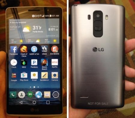 LG G4 Note se filtra en fotografías