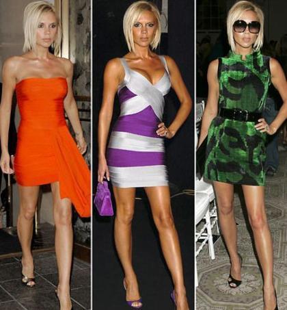 Los modelitos de VickyBeckham en la Semana de la Moda de Nueva York