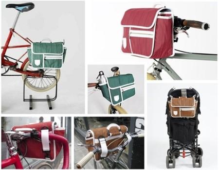 Bolso Urbano 80's para ciclistas con estilo