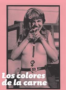 """cartel exposición """"los colores de la carne"""""""