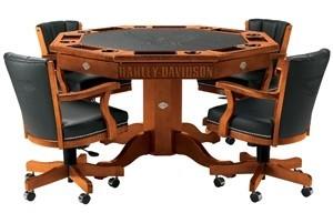 Mesa de póker Harley-Davidson
