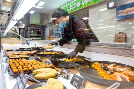 Mercadona reactiva su sección de platos preparados, Listo para comer, en 200 supermercados