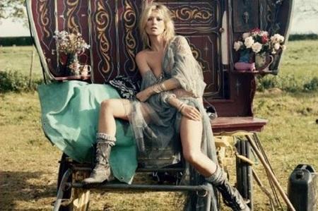 Kate Moss en V-Magazine