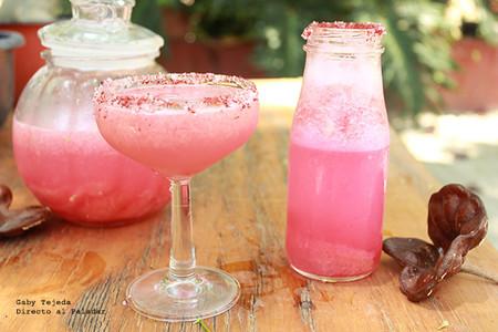 "Receta. Margarita de toronja ""Pantera Rosa"""
