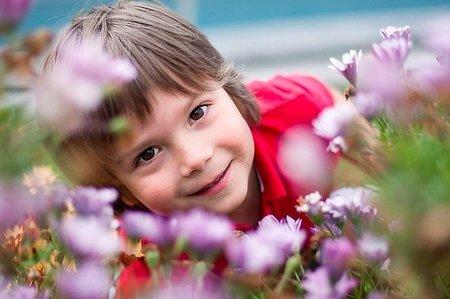 La foto de tu bebé: Martín entre flores