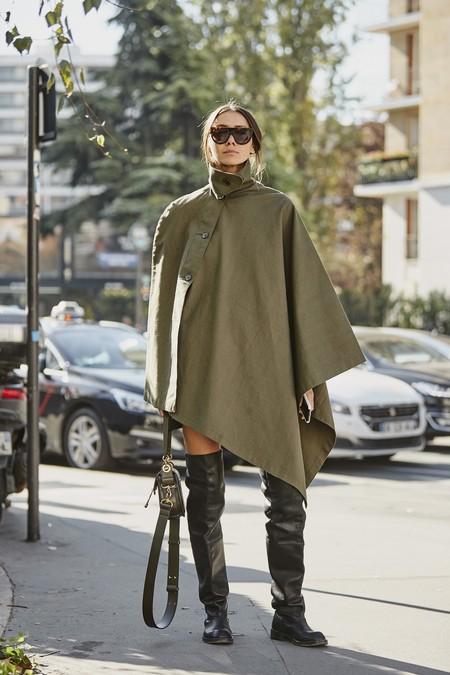 Abrigo Capa Mujer 2
