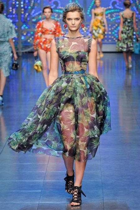 Dolce & Gabbana Primavera-Verano 2012: dime que tendencia te gusta y te diré cuál es tu prenda