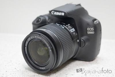 Canon EOS 1200D, análisis