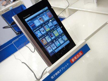 Panasonic Raboo, un tablet Android que va de eReader