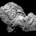 La explosión en el cometa 'Chury'grabada por Rosetta